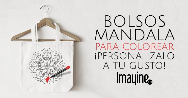BOLSOS MANDALA PARA COLOREAR... PERSONALÍZALOS MIENTRAS ENCUENTRAS ...