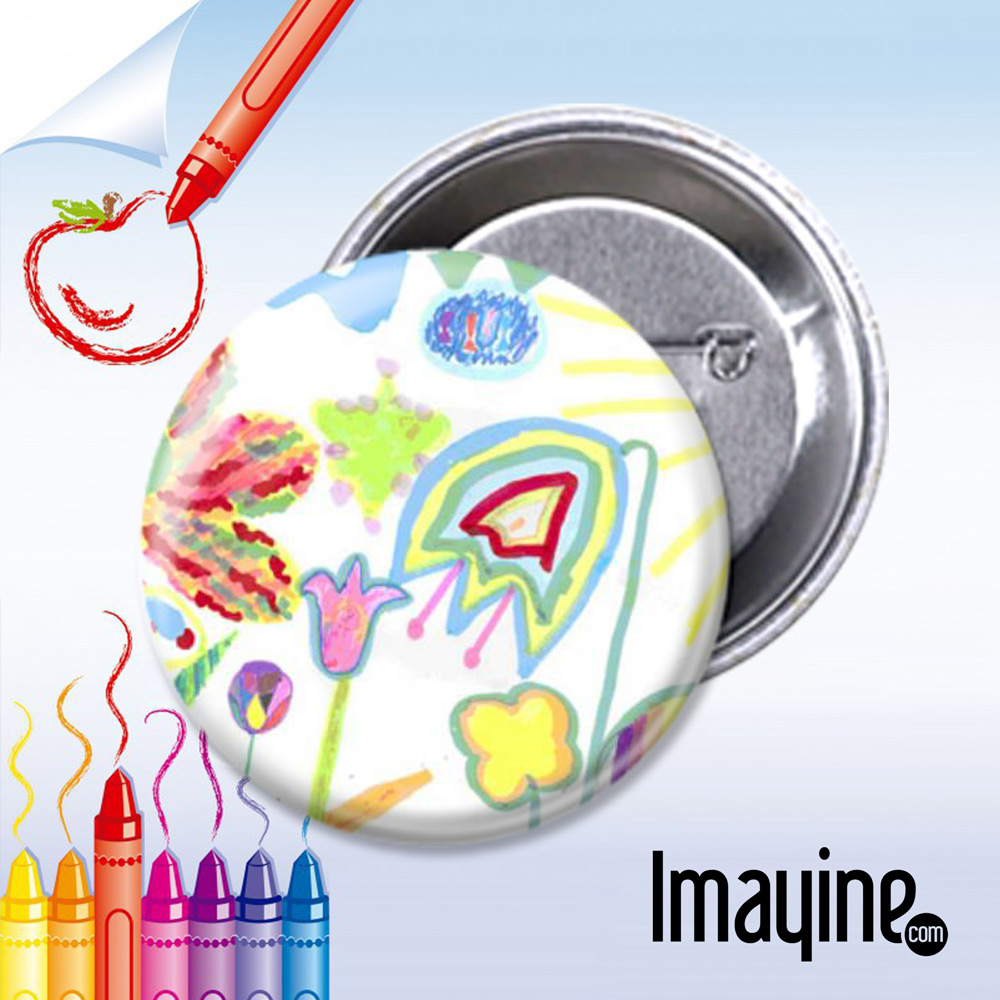 Chapas en blanco o con dibujos para que los niños regalen :: Blog ...